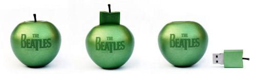 The Beatles&#039; Catalog on Limited Edition USB Stick