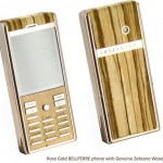 Bellperre's Finest Woods luxury phone