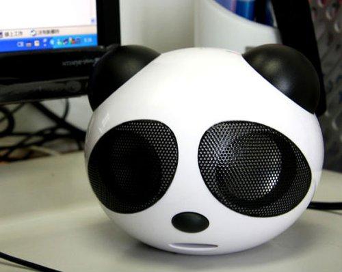 USB Panda Speakers look sad