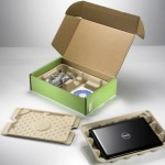 Dell uses renewable bamboo in product packaging