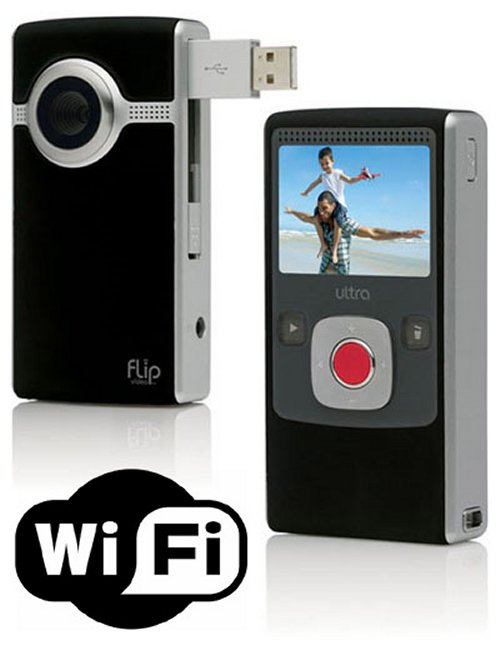 Flip video cameras to get Wi-Fi?