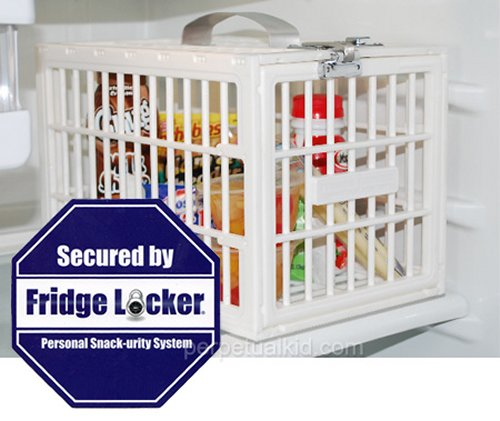 Fridge Locker locks up your food for life, shelf life
