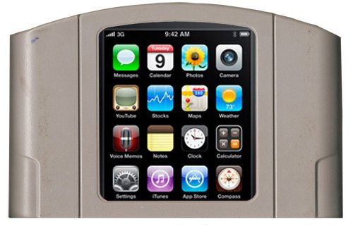 iPhone 3GS gets a Nintendo N64 emulator