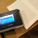 Intel Reader photographs text, then reads it to you