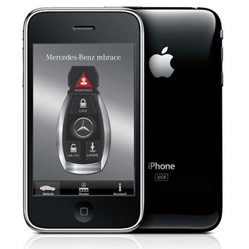 Mercedes gives car owners more control via the iPhone