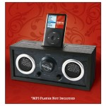 Hard Rock Cafe Limited Edition MP3 Retro Radio iPod Dock