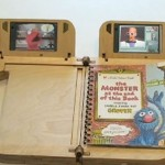 Nokia Storyplay wooden e-reader for kids