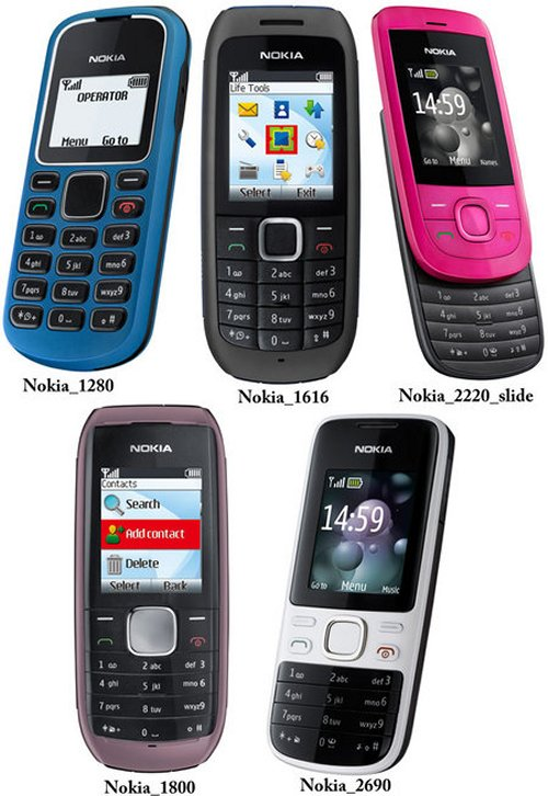 Nokia releases five new affordable phones