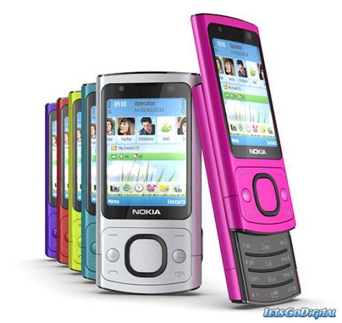 Nokia 6700 Slide and 7230