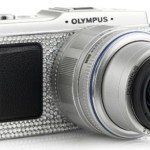 Olympus PEN E-P1 gets the Swarovski treatment