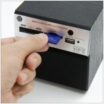 Retro Mini Speaker with MP3 player