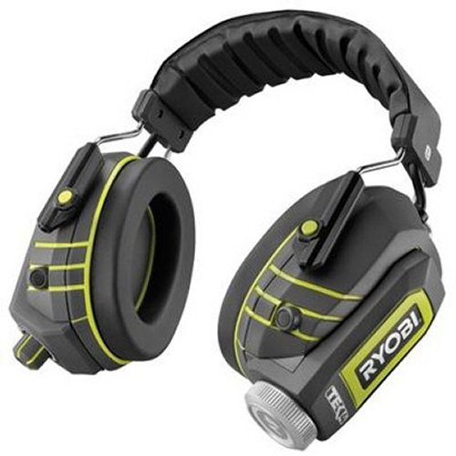 Ryobi Rugged Water Resistant Headphones