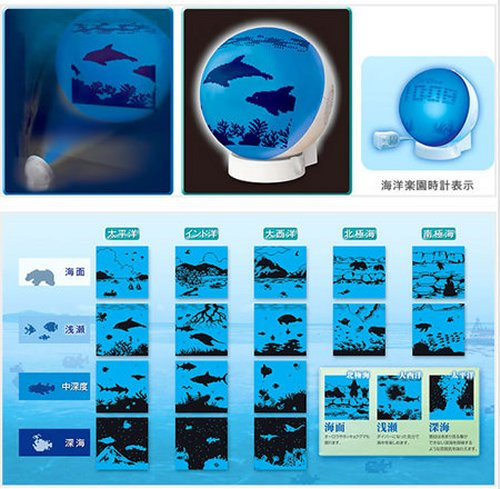 Seiko Clock puts a fake aquarium in your room