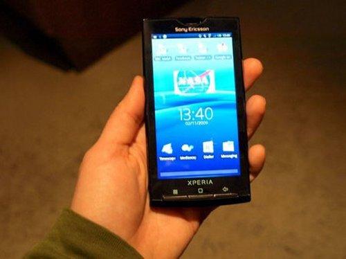 Sony Xperia X10.