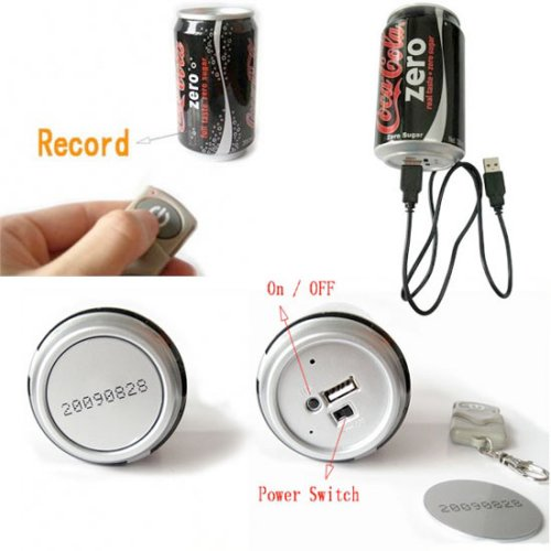 Coke can Spy Cam actually looks real