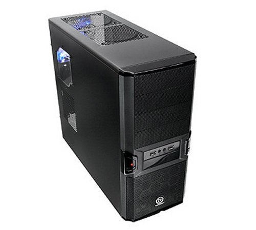 "The Thermaltake V3 Black Edition mid-tower ""Black 'n Stellar ..."