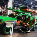Toyota's Gullwing Door XBOX Halo Warthog Concept