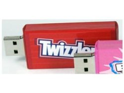 Yum Drive 2GB Twizzler and Bubble Yum flash drives