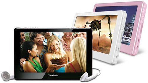 "ViewSonic VPD400 Moviebook with 8GB memory, 4.3"" screen"