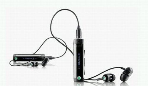 Sony Ericsson intos MW600 wireless stereo headset with FM radio