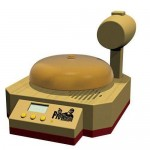 Wrestling Bell alarm clock from Banpresto