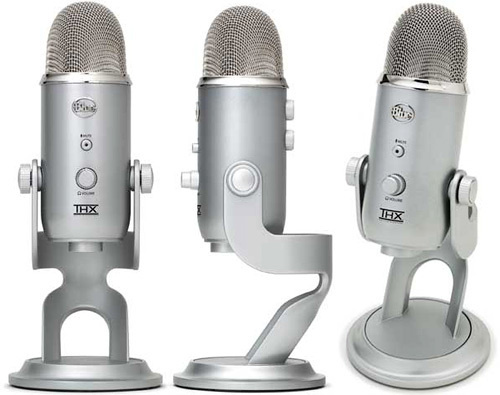 Yeti USB Mic: World&#039;s First THX Certified Microphone