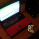 Xbox 360 laptop sports retro style