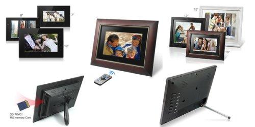 Earth-Trek unveils HD LCD Digital Photo Frames - SlipperyBrick.com