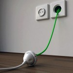 The Rambler Socket hides an extension cord in your wall