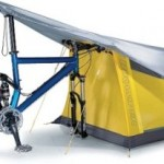 Bike Tent: Ride a bike, pitch a tent