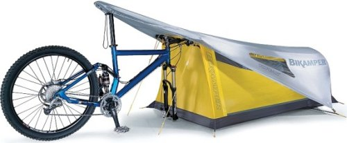 Bike Tent: Ride a bike, pitch a tent
