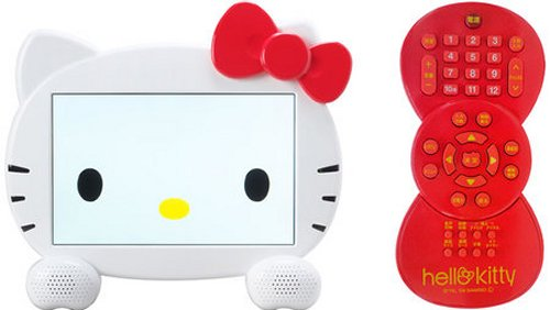 Hello Kitty LCD TV with remote
