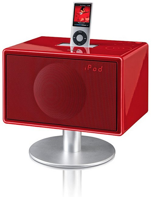 Mini GenevaSound iPod dock