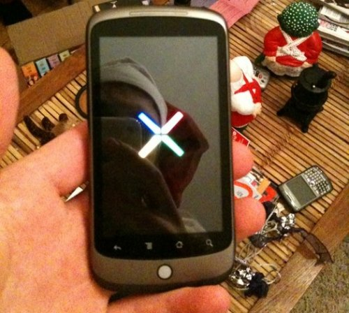 Google Nexus One makes an appearance