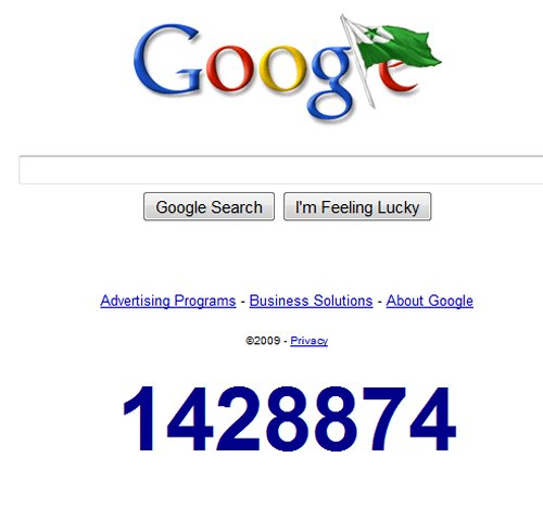 Mysterious Google countdown