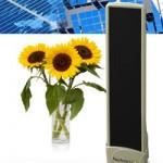 Keystone solar gadget charger works as a luggage tag