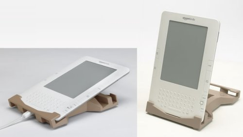 Kindle Kradle holds your Kindle, brings the ugly