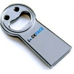 Lockface USB drive recognizes your face, mocks it