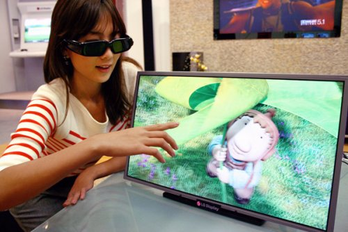 LG announces the world's first Full HD 3D LCD