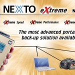 NEXTO eXtreme backs up photos and video on the go