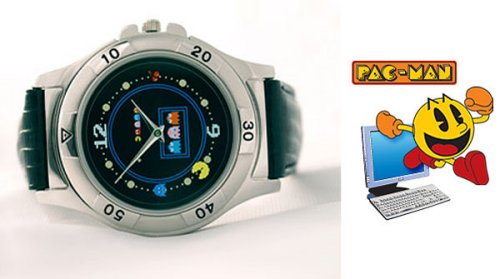 Retro Pac-Man watch