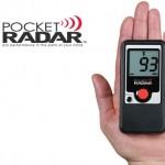 Pocket Radar is world's smallest speed radar