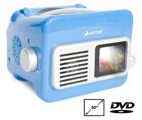 Portable DVD projector