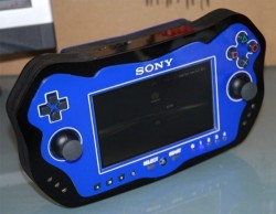 Handheld wireless visual interface for PS3