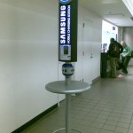 Samsung puts free charge stations into colleges and universities