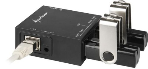 Sharkoon USB LANPort puts your USB drives on your local network
