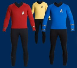 Star Trek wetsuits let you explore a very wet frontier