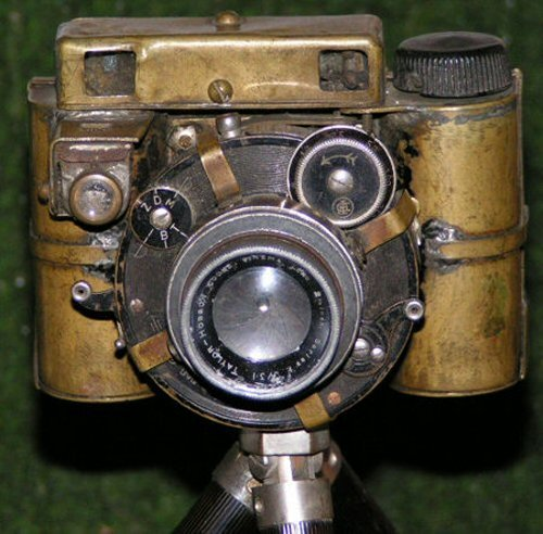 DIY Steampunk camera