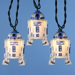 R2-D2 string lights for your geek Christmas tree