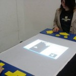 2-player Tetris table